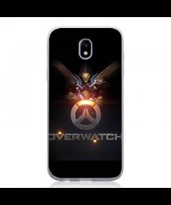 Overwatch Logo - Samsung Galaxy J5 2017 Carcasa Silicon