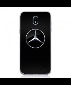 Mercedes Textured - Samsung Galaxy J5 2017 Carcasa Silicon