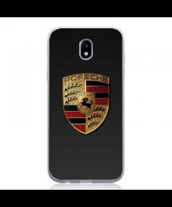 Porsche Sign - Samsung Galaxy J5 2017 Carcasa Silicon
