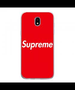 Red Supreme - Samsung Galaxy J5 2017 Carcasa Silicon