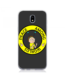 Peacefull Morty - Samsung Galaxy J5 2017 Carcasa Silicon
