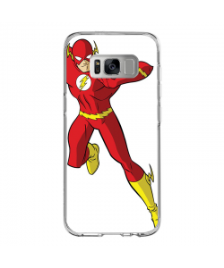 The Flash Icon - Samsung Galaxy S8 Plus Carcasa Transparenta Silicon