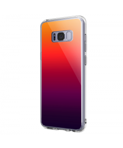 Sunset Gradients - Samsung Galaxy S8 Carcasa Premium Silicon