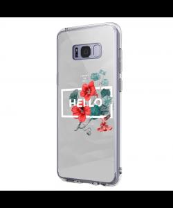 Hello Gorgeous - Samsung Galaxy S8 Carcasa Premium Silicon