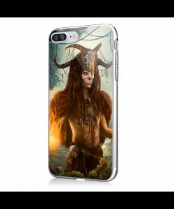 Shaman - iPhone 7 Plus / iPhone 8 Plus Carcasa Transparenta Silicon