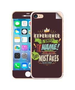 Experience - iPhone 7 / iPhone 8 Skin