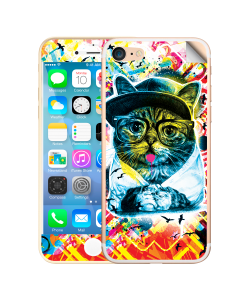 Hipster Meow - iPhone 7 / iPhone 8 Skin