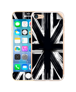 Black UK Flag - iPhone 7 / iPhone 8 Skin