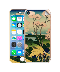 Hokusai - The Fuji from Gotenyama at Shinagawa on the Tokaido - iPhone 7 / iPhone 8 Skin