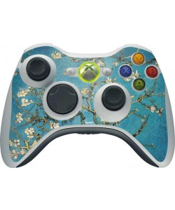 Van Gogh - Branches with Almond Blossom - Xbox 360 Wireless Controller Skin