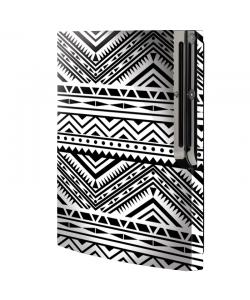 Tribal Black & White - Sony Play Station 3 Skin
