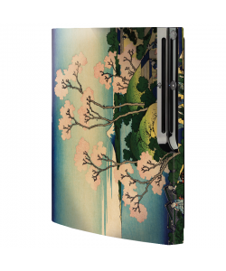 Hokusai - The Fuji from Gotenyama at Shinagawa on the Tokaido - Sony Play Station 3 Skin