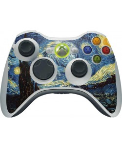 Van Gogh - Starry Night - Xbox 360 Wireless Controller Skin