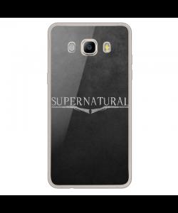 Supernatural - Samsung Galaxy J7 2017 Carcasa Transparenta Silicon