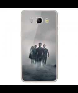 Teen Wolf 2 - Samsung Galaxy J7 2017 Carcasa Transparenta Silicon