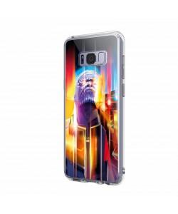 Thanos Infinity War - Samsung Galaxy S8 Carcasa Transparenta Silicon