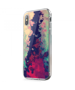This is How it Feels - iPhone X Carcasa Transparenta Silicon