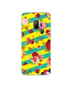 Tread Softly - Samsung Galaxy S9 Carcasa Transparenta Silicon