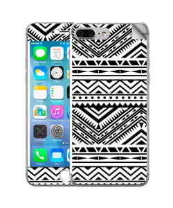 Tribal Black & White - iPhone 7 Plus / iPhone 8 Plus Skin