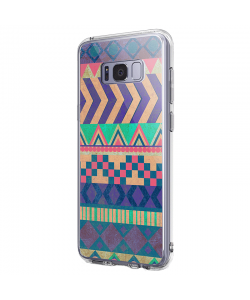 Tribal Pastel - Samsung Galaxy S8 Plus Carcasa Premium Silicon