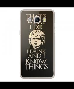 GoT Tyrion 2 - Samsung Galaxy J7 2017 Carcasa Transparenta Silicon