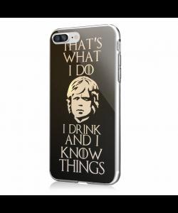 GoT Tyrion 2 - iPhone 7 Plus / iPhone 8 Plus Carcasa Transparenta Silicon