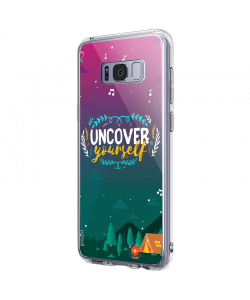 Uncover Yourself - Samsung Galaxy S8 Plus Carcasa Premium Silicon