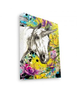 Unicorns and Fantasies - Canvas Art 35x30