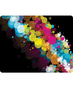 Rainbow Bubbles - Huawei P10 / P10 Lite / P10 Plus Carcasa Transparenta Silicon
