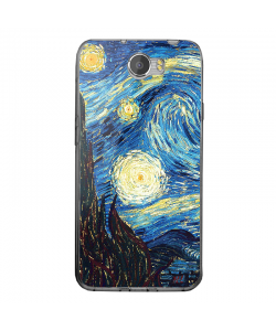 Van Gogh - Starry Night - Huawei Y5 II Carcasa Transparenta Silicon
