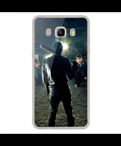 Walking Dead - Samsung Galaxy J7 2017 Carcasa Transparenta Silicon