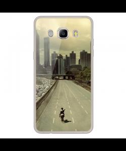 Walking Dead 3 - Samsung Galaxy J7 2017 Carcasa Transparenta Silicon