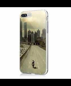 Walking Dead 3 - iPhone 7 Plus / iPhone 8 Plus Carcasa Transparenta Silicon