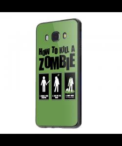 Walking Dead 4 - Samsung Galaxy J5 2017 Carcasa Silicon