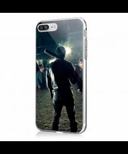 Walking Dead - iPhone 7 Plus / iPhone 8 Plus Carcasa Transparenta Silicon