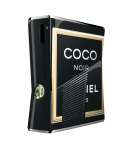 Coco Noir Perfume - Xbox 360 Slim Skin
