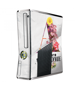 A is for Awesome - Xbox 360 Slim Skin