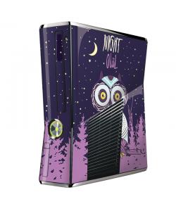 Night Owl - Xbox 360 Slim Skin