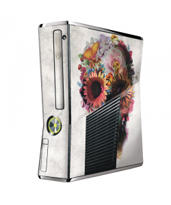 Spring Skull - Xbox 360 Slim Skin
