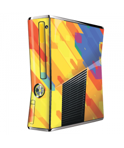 Ruby Slide - Xbox 360 Slim Skin