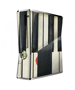 Piano Love - Xbox 360 Slim Skin