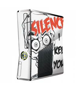 Silence I Keel You - Xbox 360 Slim Skin