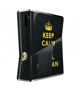 Keep Calm and Call Batman - Xbox 360 Slim Skin