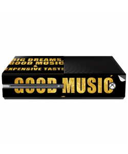 Good Music Black - Xbox One Consola Skin