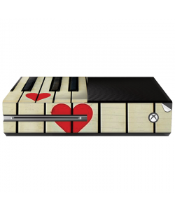 Piano Love - Xbox One Consola Skin