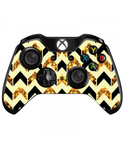 Black & Gold - Xbox One Controller Skin