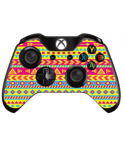 Yellow Frenzy - Xbox One Controller Skin
