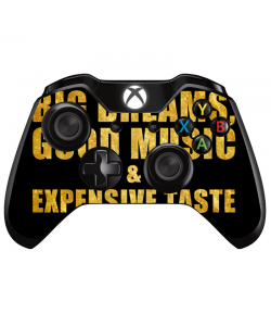 Good Music Black - Xbox One Controller Skin