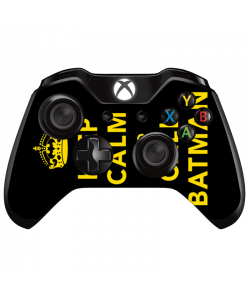 Keep Calm and Call Batman - Xbox One Controller Skin