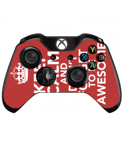 Keep Calm and Be Awesome - Xbox One Controller Skin